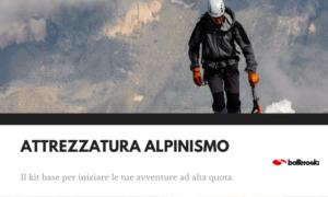 Abbigliamento e attrezzatura alpinismo