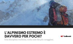 alpinismo estremo