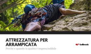 qualita nell'attrezzatura per arrampicata