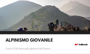 Formazione di alpinismo giovanile
