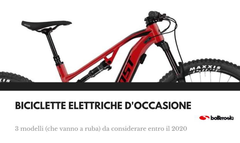 Biciclette elettriche occasione 2020