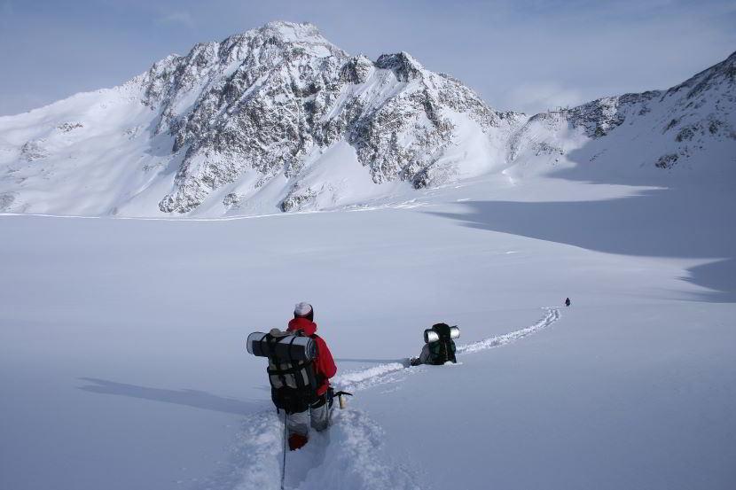 Dove fare sci alpinismo in Veneto.