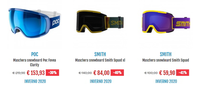 Maschere da snowboard: consigli e spunti su Botteroski.com.