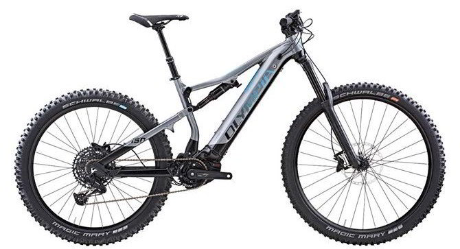 Full suspension e-bike Olympia Genbo.