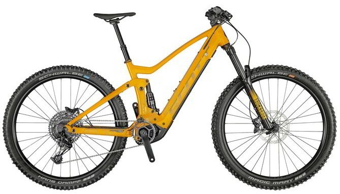 Full suspension e-bike Scott Genius-e-ride 930.