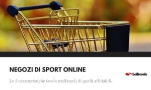 Negozi di sport on-line: ecco i più sicuri.