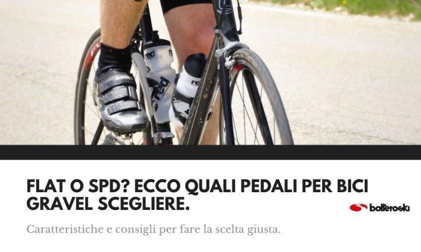 Su quali pedali per bici gravel optare?