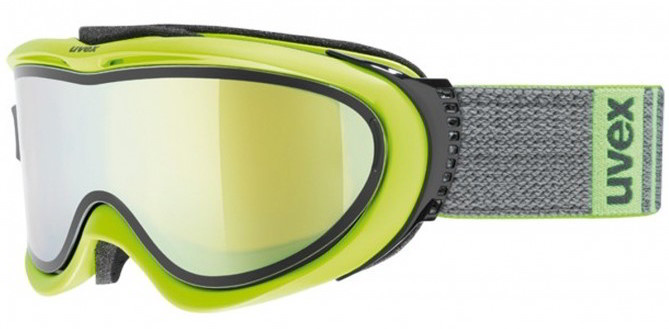 Colori lenti maschere da sci: modello Uvex con doppia lente