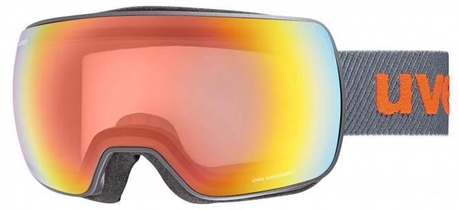 Maschere da sci con lenti fotocromatiche sferiche UVEX.
