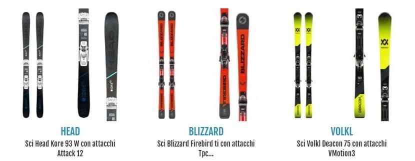Come scegliere gli sci in base all'altezza, all'esperienza e allo stile.