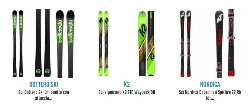 Migliori sci da utilizzare  sulle più belle piste da sci italiane