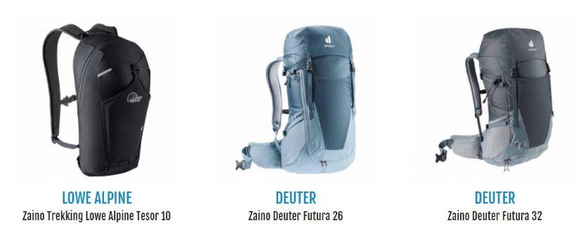 abbigliamento trekking estivo e zaini su Botteroski.com