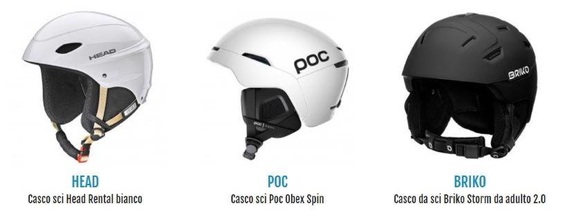 Come misurare il casco da sci prima dell'acquisto.
