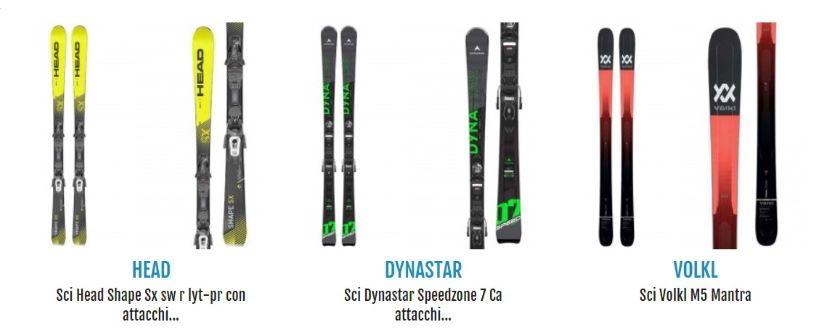 Cosa serve per sciare? Proposte di sci su Botteroski.