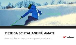 piste da sci italiane