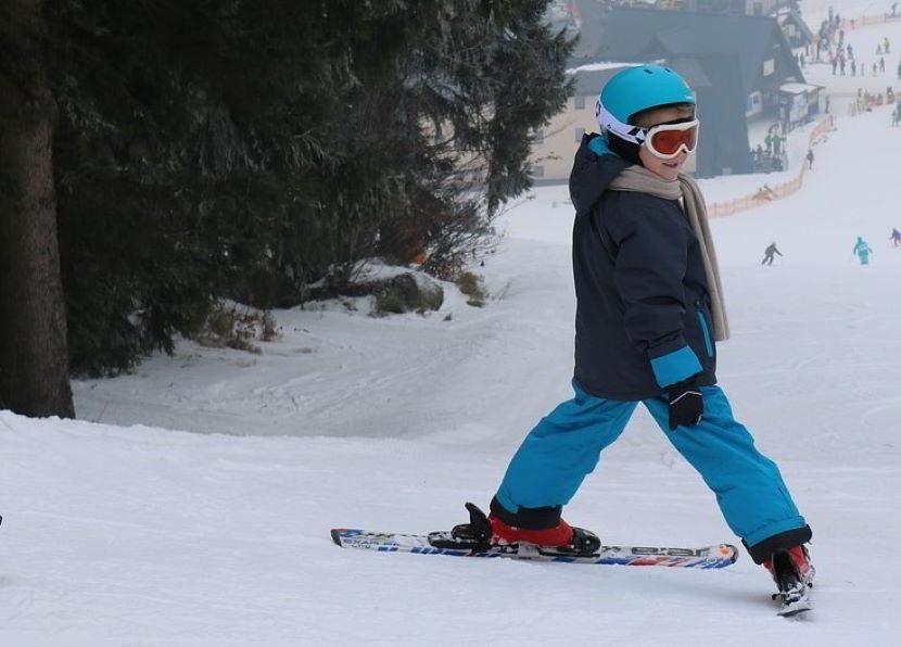 A che età iniziare a sciare? Bimbo di 5 anni.