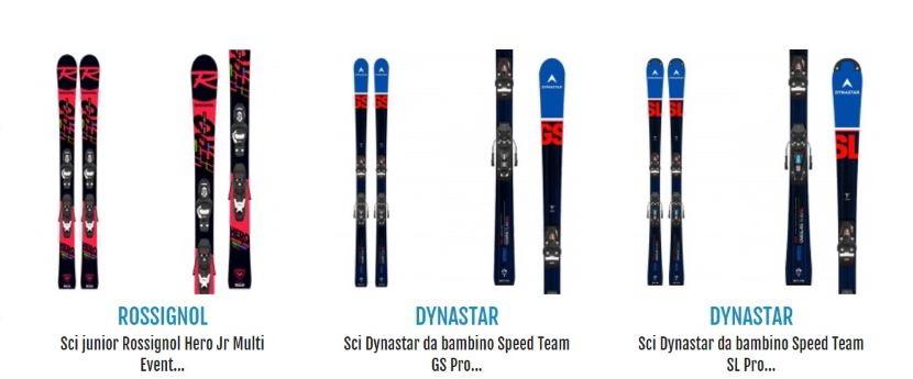 A che età iniziare a sciare con i migliori sci?