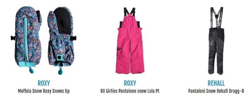 abbigliamento da snowboard per iniziare da piccoli