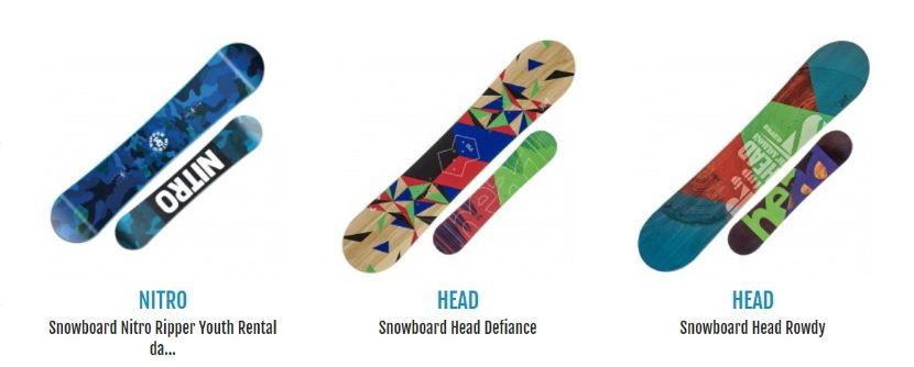 snowboard per iniziare per i più piccoli