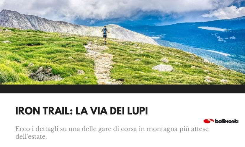 Iron Trail, gara di corsa in montagna