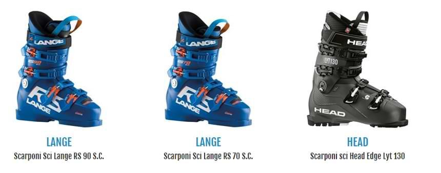 Scarponi da sci in vendita su Botteroski.com