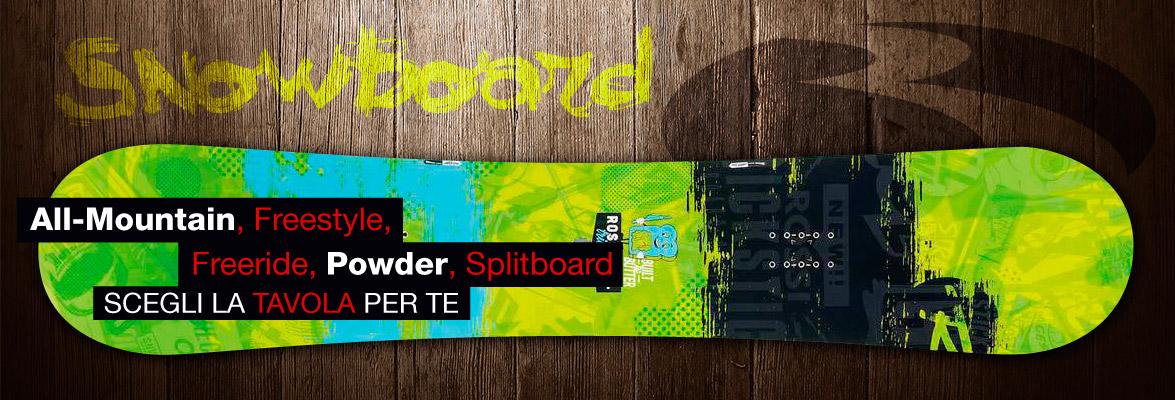 Banner Guida snowboards Botteroski